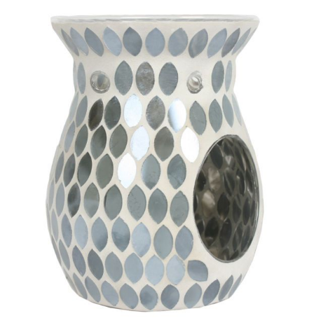 Tealight Wax Melter - Pearl Greay