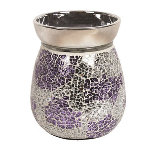 Mosaic Electric Wax Melter - Purple