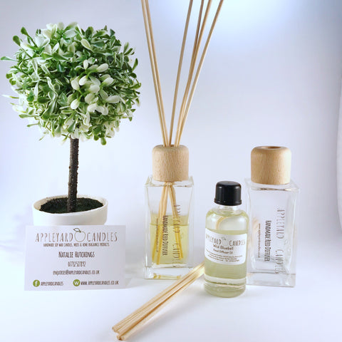 Reed Diffuser - Apple Blossom & Peony