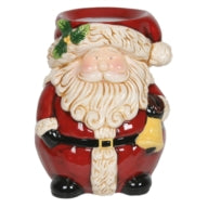 Tealight Wax Melter - Cute Santa