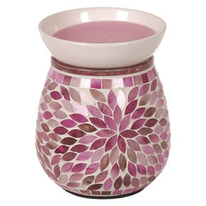 Mosaic Electric Wax Melter - Pink