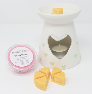 Wax Melt Pot - Raspberry Ripple Ice Cream