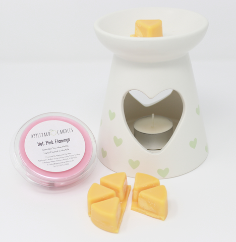 Wax Melt Pot - Rhubarb & Custard