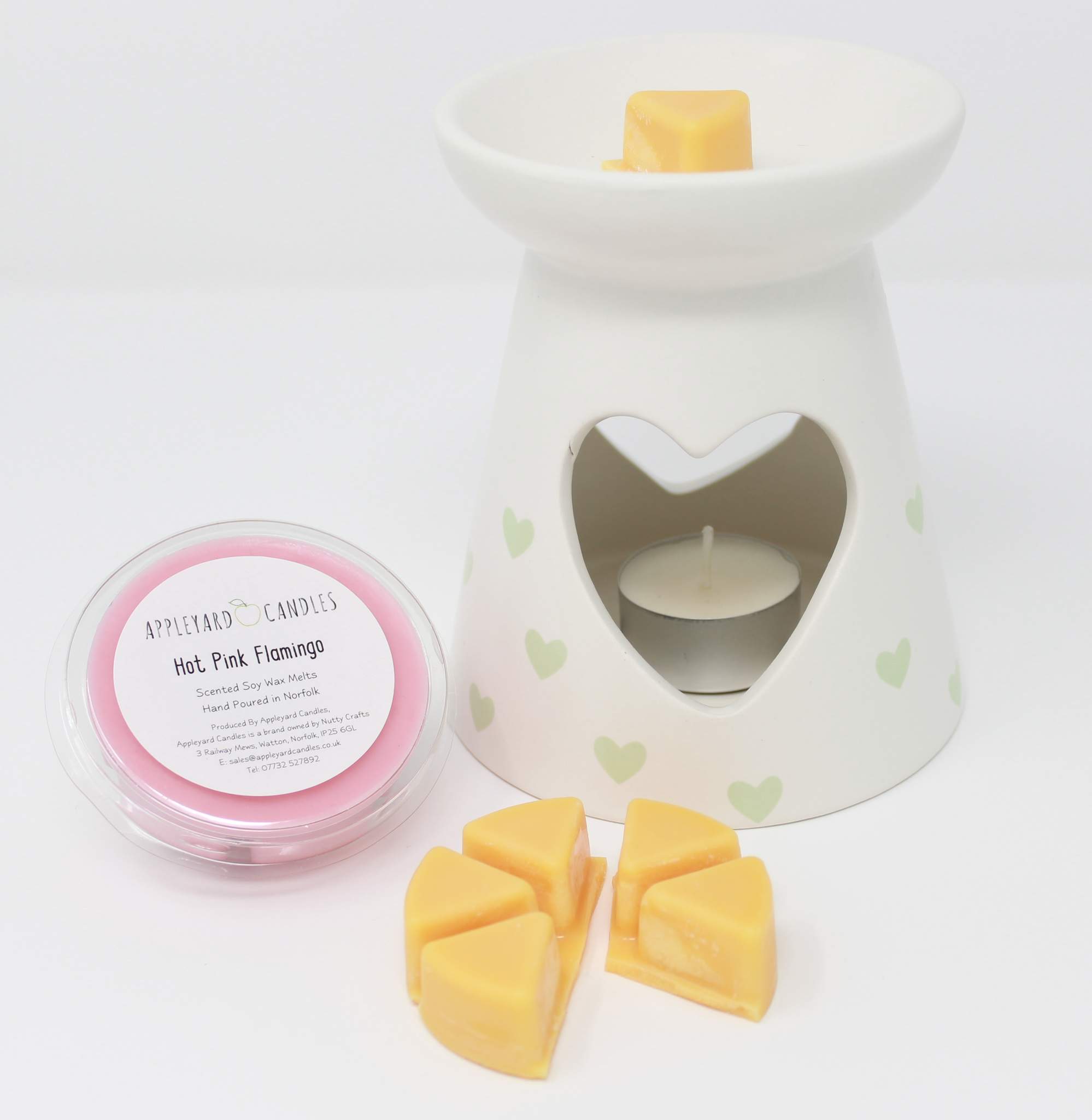 Wax Melt Pot - Thai Lime & Mango