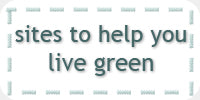 sites to help you live green