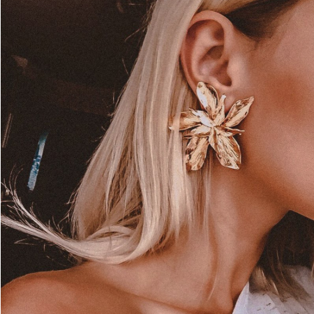 Gisele Flower Earrings