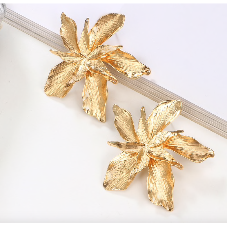 Gisele Flower Earrings - preorder