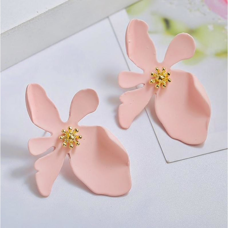 Alyssa Flower Earrings - Little Bird Designs