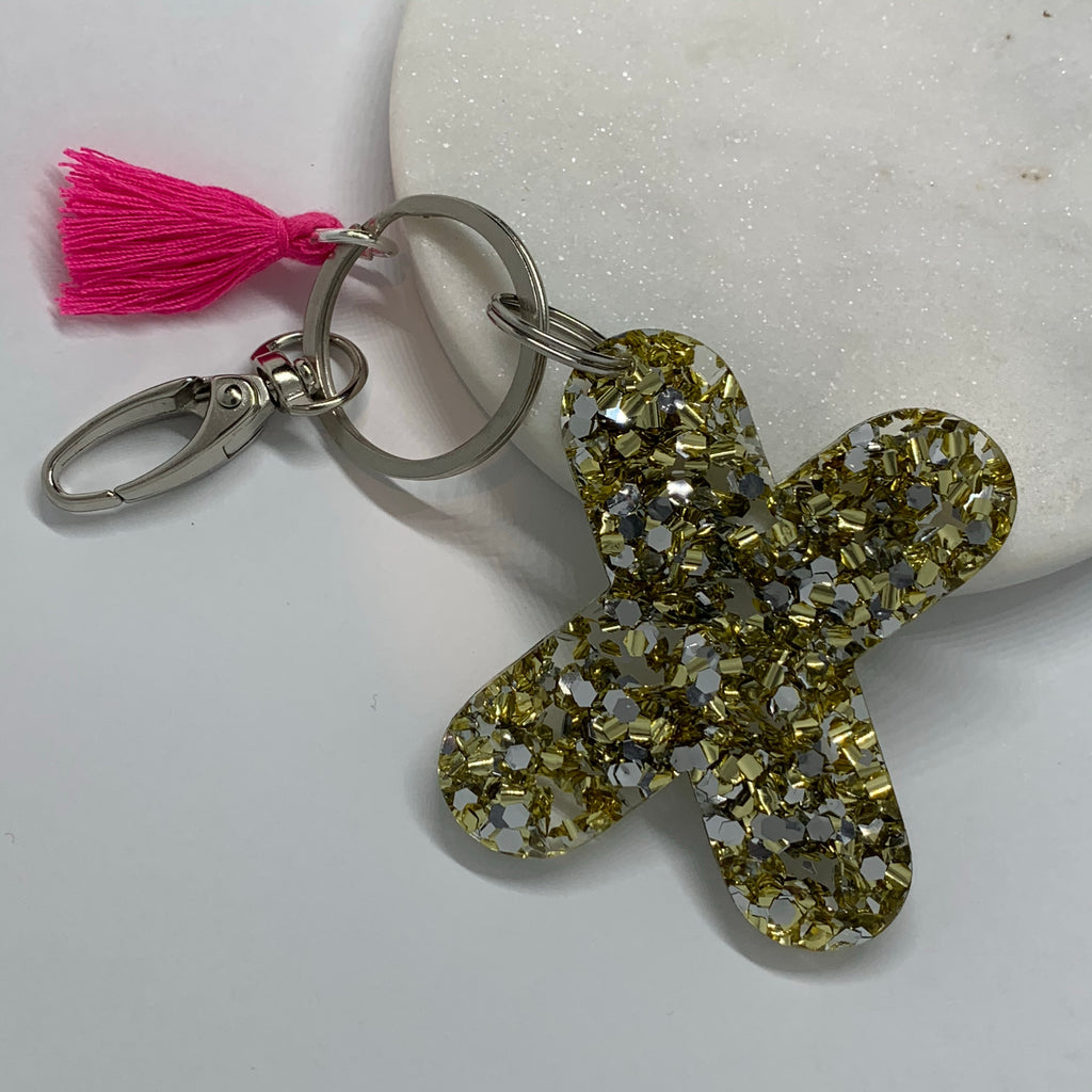 Kiss Keyring - Little Bird Designs