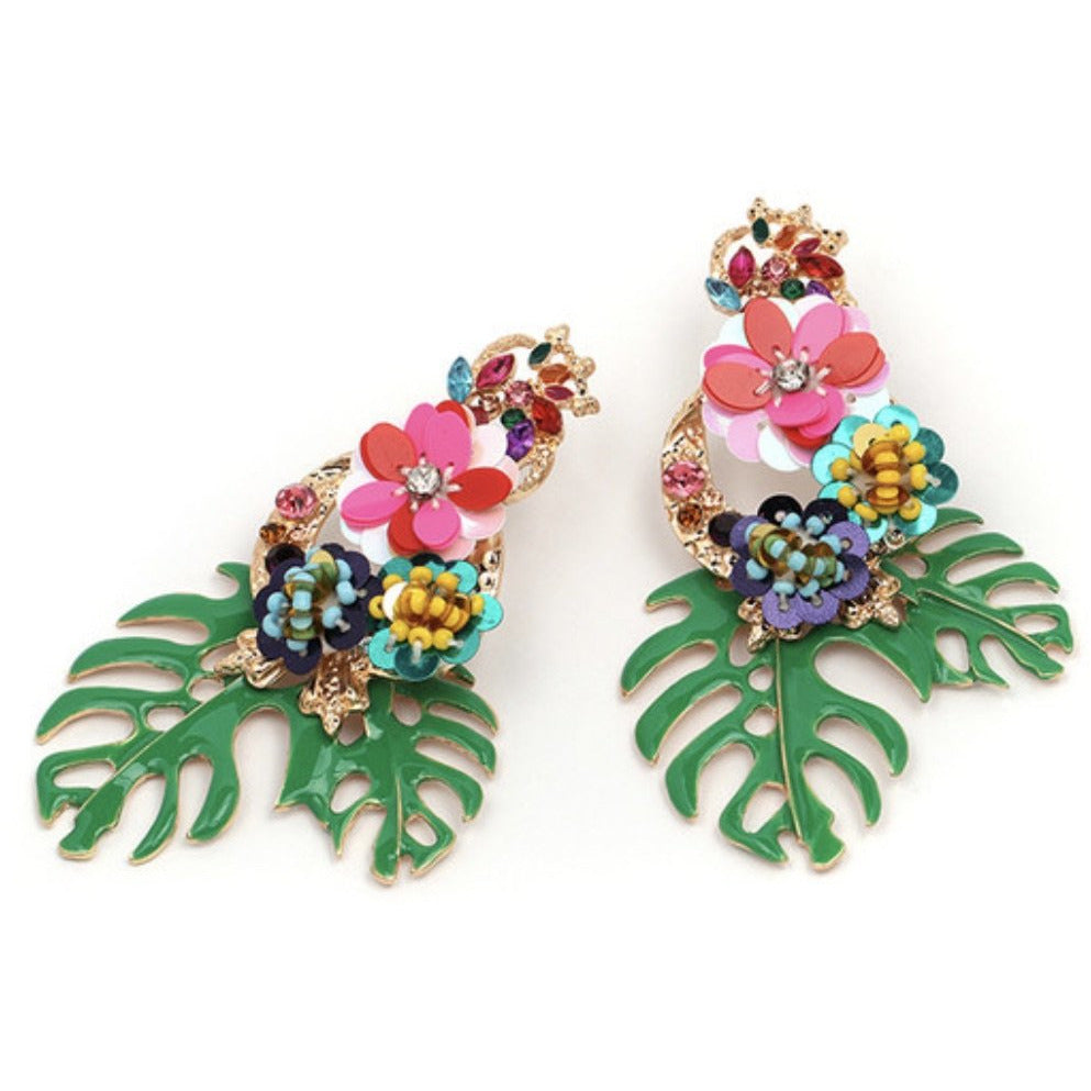 Tropicola Earrings - Little Bird Designs