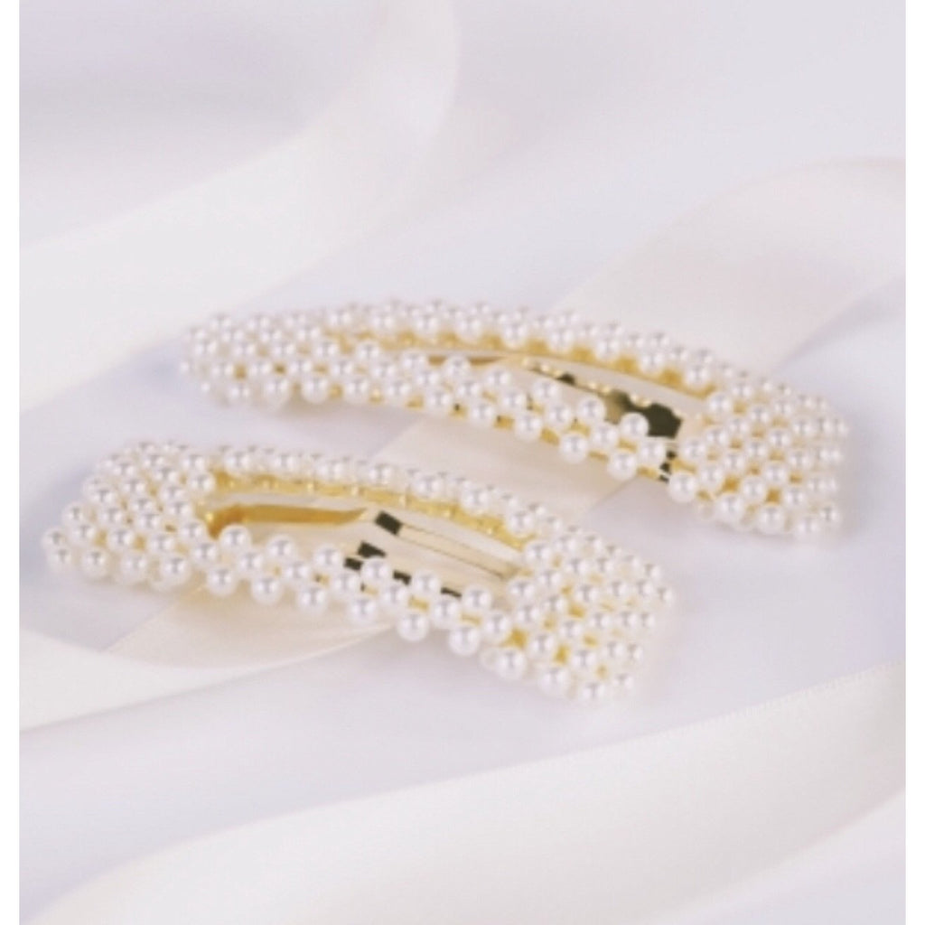 Choose 2 Pearl Hair Clips for $45