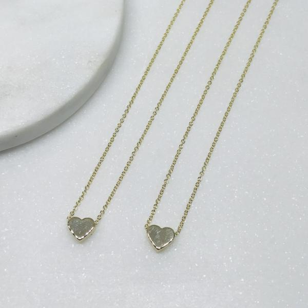 Mummy and Me Heart Necklaces - Little Bird Designs