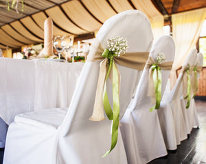 Chair cover, Bands and Tie Rental