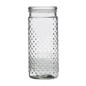 Tall Dotted Jar | Gently Used