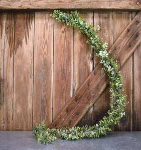 Faux Baby Eucalyptus Garland - 5ft