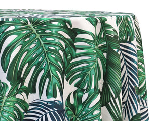 Monstera Print Overlay Rental