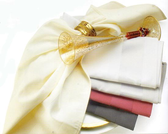 Satin Band Heavy Cotton Napkin Rental