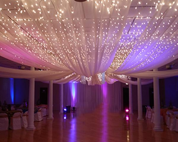 Draping and Lighting Rental