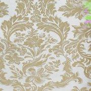 "Case of Damask Cloth 132"" Round in Mandy Pattern - 12 pieces"