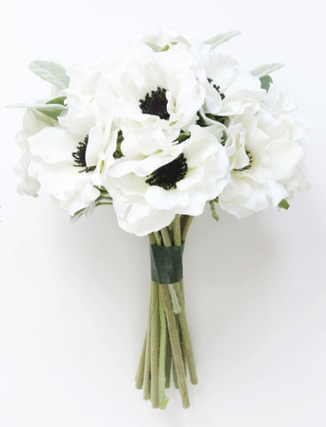 Silk Anemone Bouquet