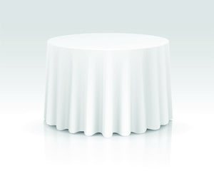 "120"" Round Tablecloth Rental"