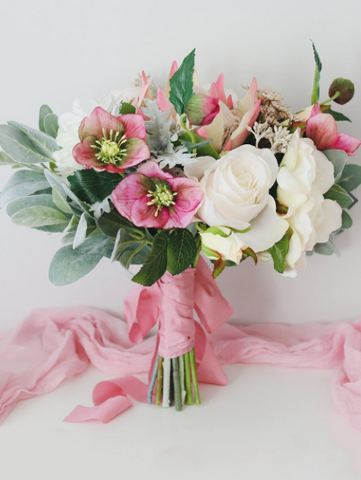 Pink and Blush Wedding Bouquet