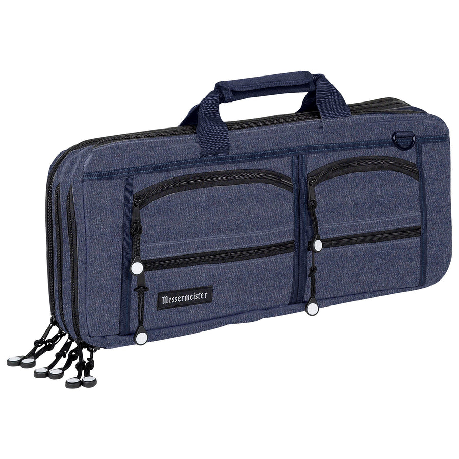 18 Pocket Denim Chef's Luggage_Front View