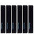 6 Piece Steak Knife Edge-Guard Set_Black