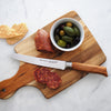 Oliva Elité 6 Inch Reverse Scalloped Utility Knife_Salami and Olives