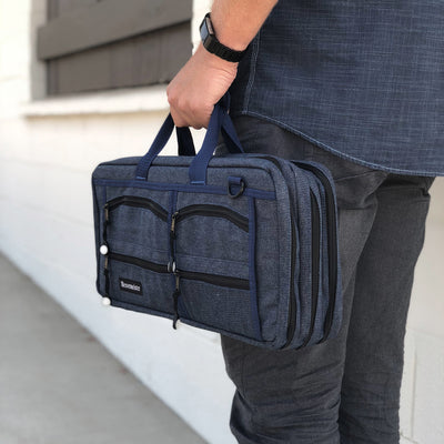 18 Pocket Denim Chef's Luggage_Man