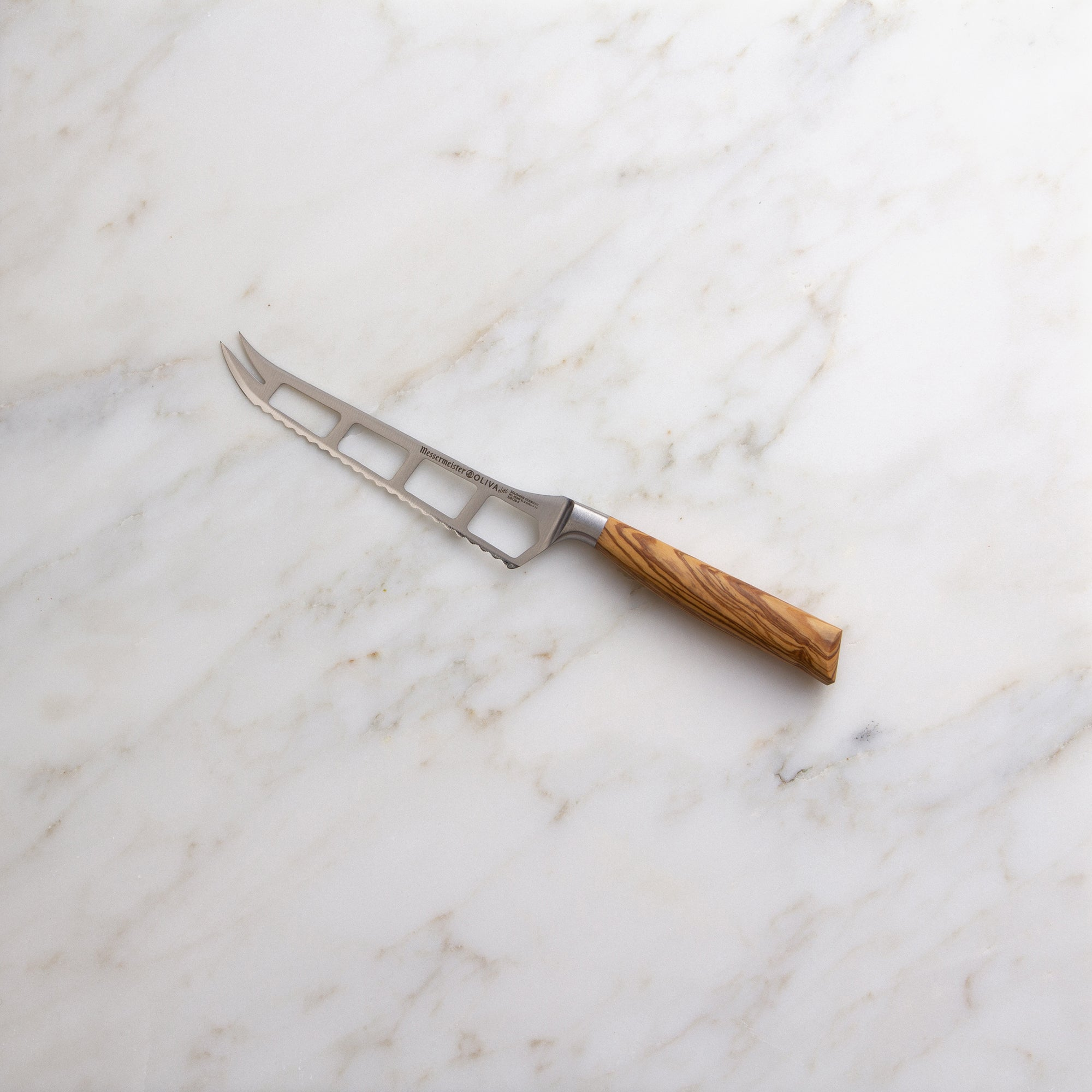 Oliva Elité 5 Inch Cheese And Tomato Knife_Angle_Marble