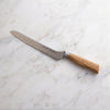 Oliva Elité 8 Inch Scalloped Offset Knife_Angle_Marble