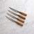 Oliva Elité 4 Piece Steak Knife Sets