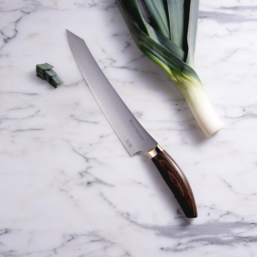 Kawashima 10 Inch Slicer_Narrow Spear-point
