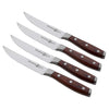 Avanta Pakkawood 4 Piece Fine Edge Steak Knife Set
