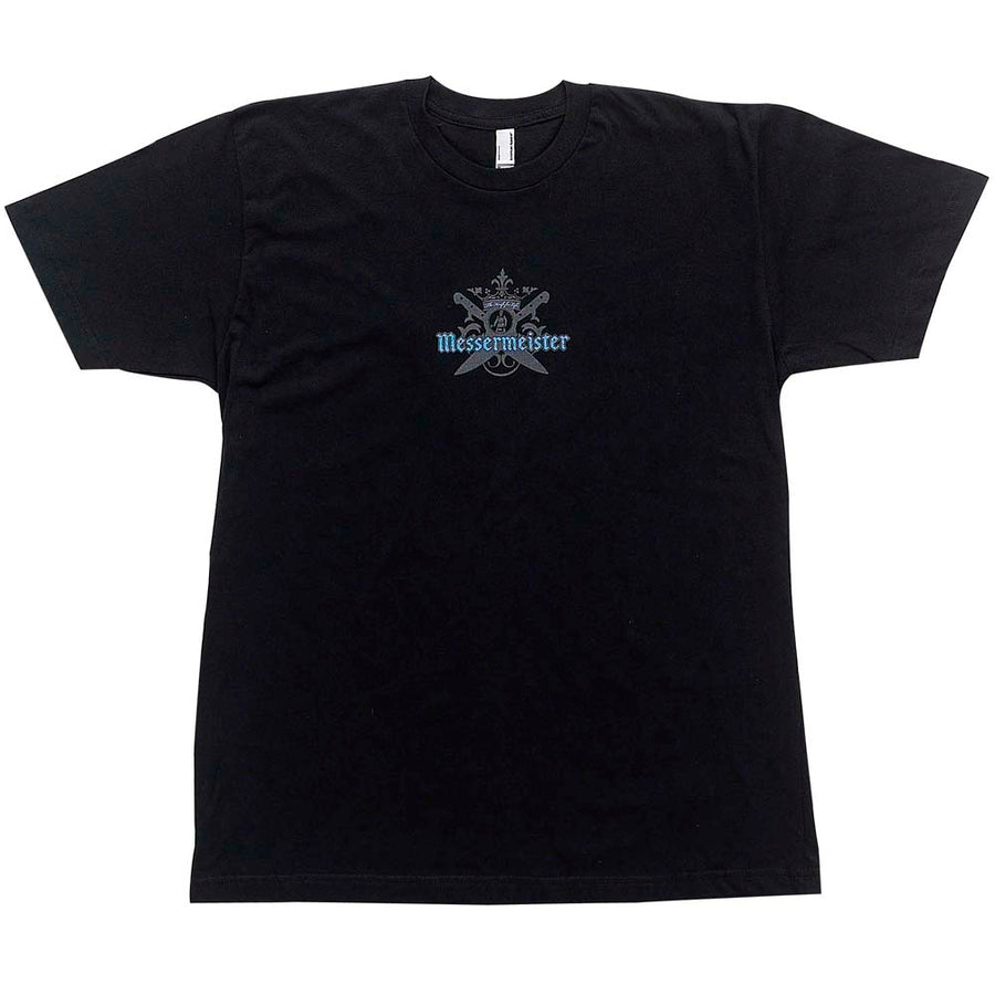 Black Unisex T-shirt with Messermeister Crest Logo