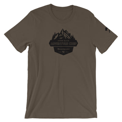 Adam Glick Adventure Chef T-Shirt_Army