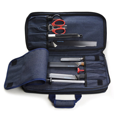18 Pocket Denim Chef's Luggage_Knife Sharpener_Scissors
