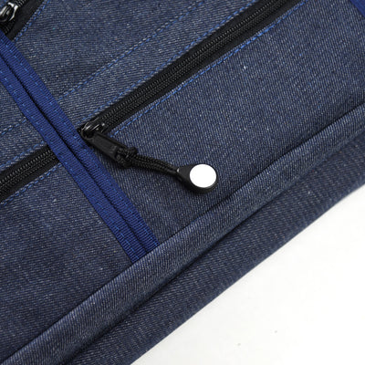 18 Pocket Denim Chef's Luggage_Front Zipper