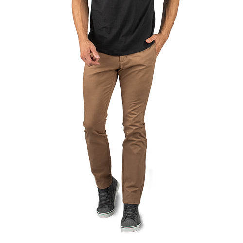 Feel Good Chinos in Smooth Oak