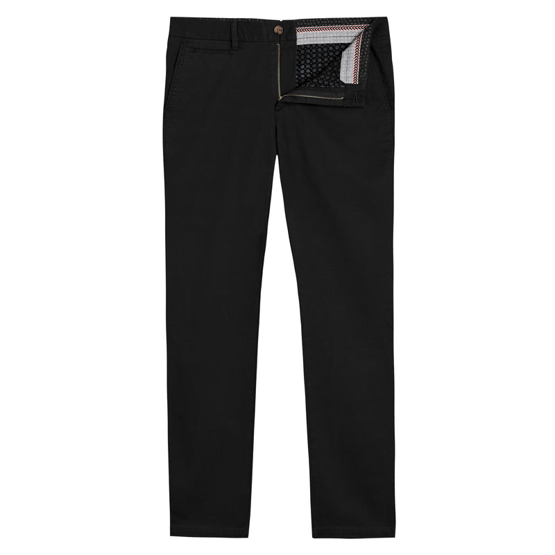 Feel Good Chinos in Solid Black