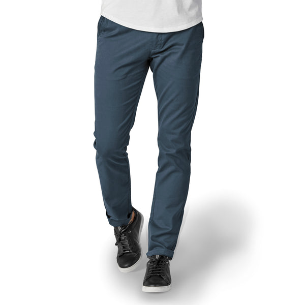 Feel Good Chinos in Riverside Blue
