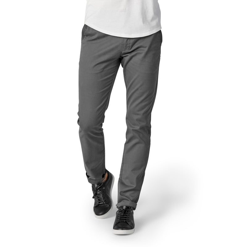 Feel Good Chinos in Faded Black