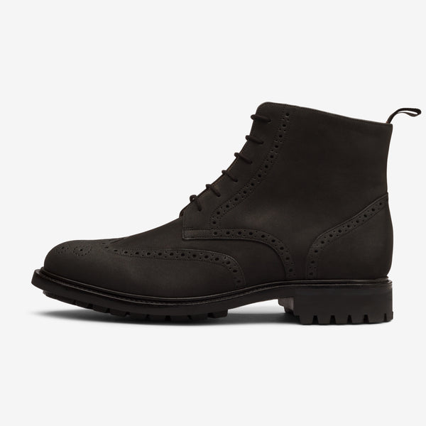 Wingtip Boot in Anthracite Black - Goodyear Welted