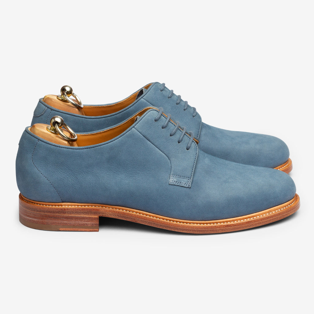 Unlined Blucher - Ocean