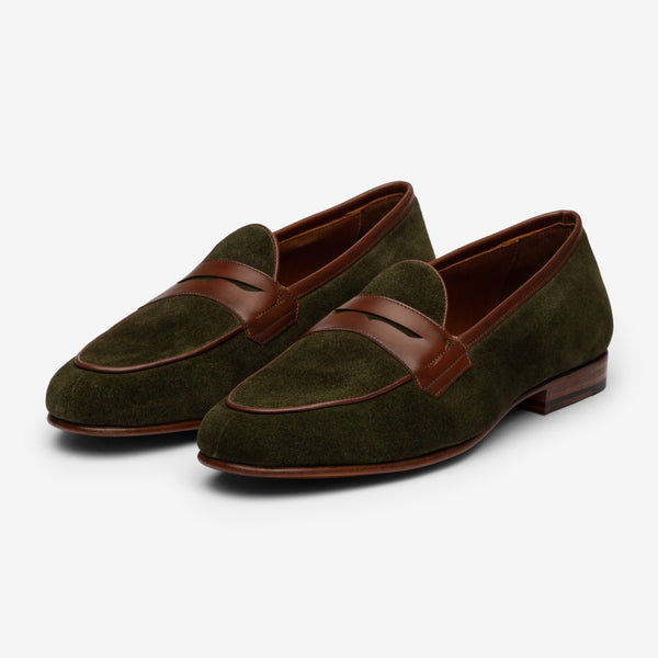 Belgian Loafer - Green