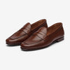 Unlined Loafer - Brown