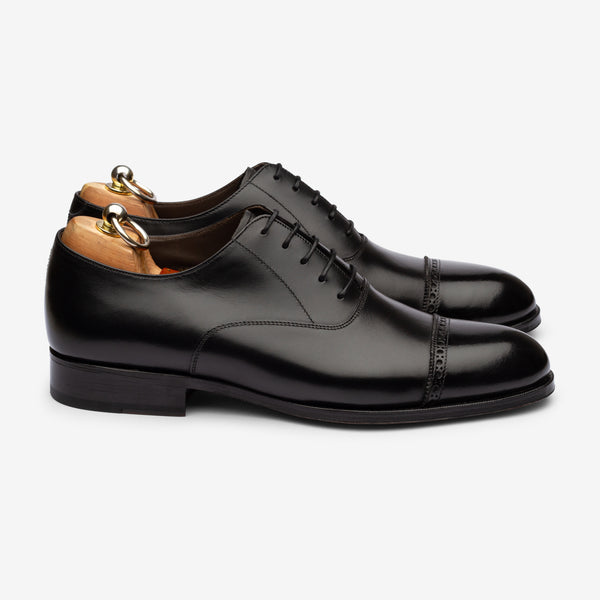 Punch Cap Oxford - Black