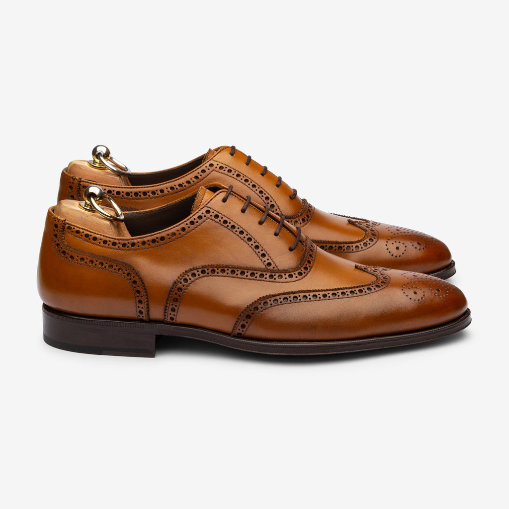 Wingtip Oxford - Cuoio