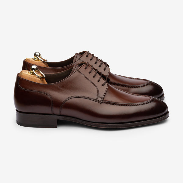 U-Tip Derby - Brown